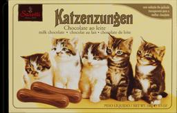 Chocolate Katzenzungen Lingua de Gato 200 g