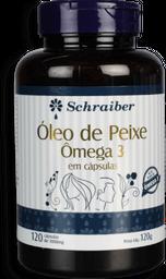 Óleo De Peixe Schraiber Ômega 3 1000 mg 1 U