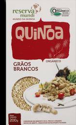 Quinoa em Grão Mundo da Quinoa Branco 200 g