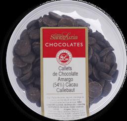 Chocolate Santa Luzia Gotas Amargo 54% Callebaut 200 g