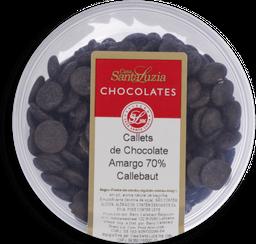 Chocolate Santa Luzia Gotas Amargo 70% Callebaut 200 g
