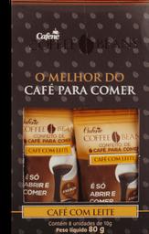Café Com Leite Coffe Beans Com Leite 80 g