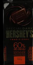 Chocolate Hersheys Dark Tradicional 100 g