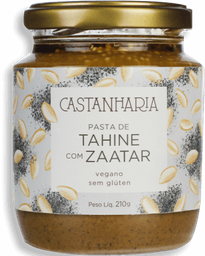 Pasta Castanharia Tahine Com Zaatar 210 g