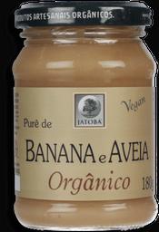 Purê Jatobá Aveia E Banana Orgânico 180 g