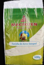 Farinha de Arroz Macrozen Integral 500 g