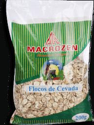 Flocos Macrozen De Cevada Integral 200 g