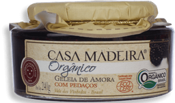 Geléia Casa Madeira Amora Orgânico 240 g