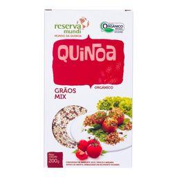 Quinoa em Grão Mundo da Quinoa Mix 200 g