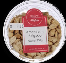 Amendoim Santa Luzia Torrado Sem Pele Com Sal 200 g
