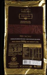 Chocolate Nugali Amargo 70% Cacau 500 g