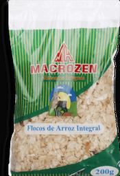 Flocos Macrozen De Arroz Integral 200 g