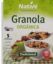 Granola Native Crunch Tradicional 250 g