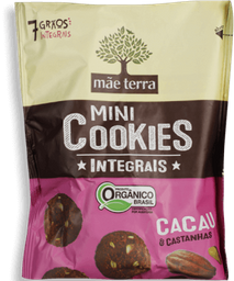 Cookies Mãe Terra Integral Cacau 120 g
