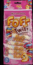 Marshmallow Florestal Fofs Twist 144 g
