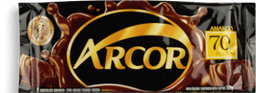 Chocolate Arcor 70% Meio Amargo 100 g