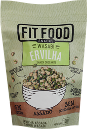 Snack Fit Food Ervilha e Wasabi 100 g
