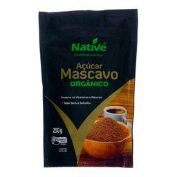 Açúcar Native Mascavo Orgânico 250 g