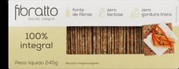 Biscoito Fibrato 100% Integral 245 g