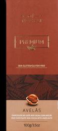 Chocolate Nugali Premium Avelã 100 g