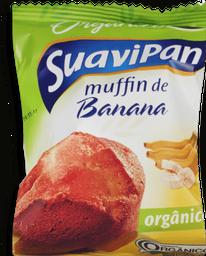 Muffin Suavipan Banana Orgânico 40 g