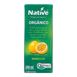 Suco Native Maracujá Orgânico 200 mL