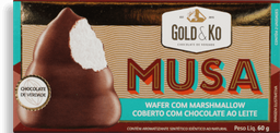 Wafer Musa Marshmallow Ao Leite 60 g