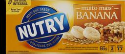 Barra De Ceral Nutry De Banana 66 g