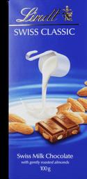 Chocolate Lindt Milk Amendoas 100 g