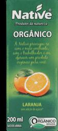 Suco Native Laranja Orgânico 200 mL