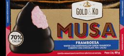 Wafer Musa Framboesa 70% Cacau 60 g