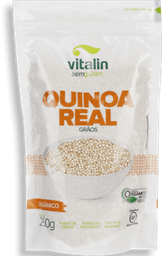 Vitalin Quinoa Real Branca Em Grãos Orgânico