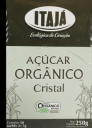 Açúcar Itajá Orgânica Sachê 250 g