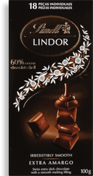 Chocolate Lindt Lindor Dark 100 g