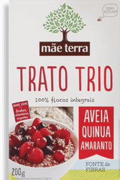 Flocos Mãe Terra Trato Trio 200 g