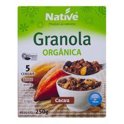 Granola Native Crunch Cacau 250 g