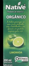 Suco Native Limão Orgânico 200 mL