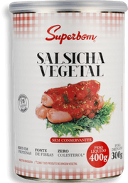 Salsicha Suberbom Vegetal 300 g