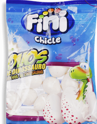 Chiclete Fini Ovos Dinos 100 g