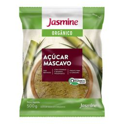 Açúcar Jasmine Orgânico 500 g
