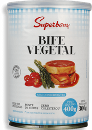 Bife Superbom Vegetal 300 g