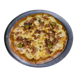 Pizza de Bacon