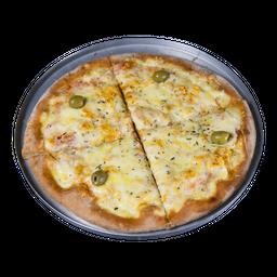 Pizza de Frango Com Mussarela