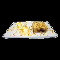 Torta de Maça e Sorvete