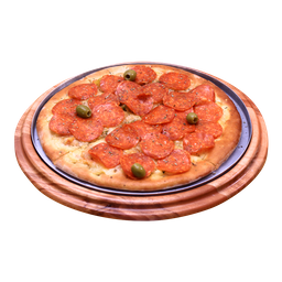 Pizza de Peperone