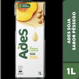 Alimento De Soja Ades Pêssego 1 L