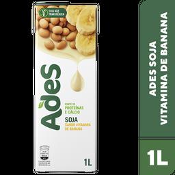Alimento De Soja Ades Vitamina Banana 1 L