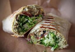 Sanduiche Shawarma Vegetariana