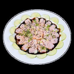 Sashimi Misto Maçaricado com Molho Tarê
