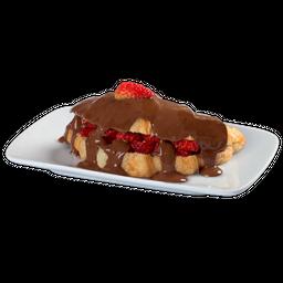 Chocolate ao Leite com Morangos